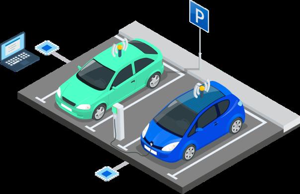 I add or remove vehicles and I propose new services via APIs (concierge, conveyor, autonomous car)